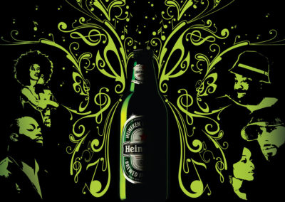 Heineken Point of Sale Advertising