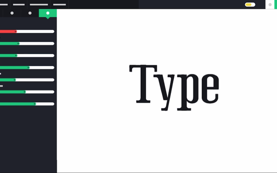 Designing a New Font Family Online